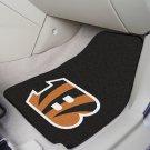 NFL  Cincinnati Bengals 2 Piece Carpeted Car Mats