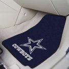 NFL  Dallas Cowboys 2 Piece Carpeted Car Mats
