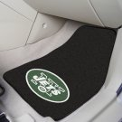 NFL  New York Jets 2 Piece Carpeted Car Mats