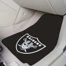 NFL  Oakland Raiders 2 Piece Carpeted Car Mats