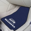NFL  Seattle Seahawks 2 Piece Carpeted Car Mats