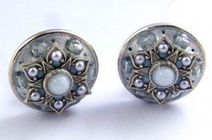 Vintage Michal Golan Clip Earrings