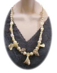Vintage MOP & Seashells Necklace