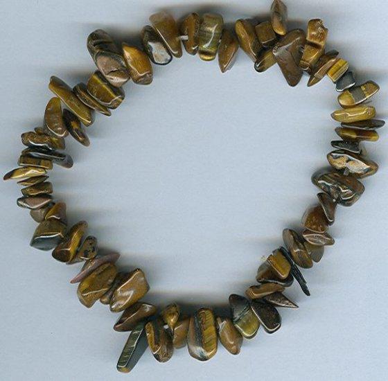 Genuine Tiger Eye Freeform Bracelet