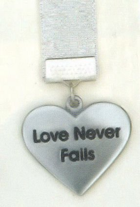 Bookmark 'Love Never Fails'