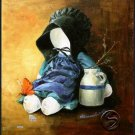 Friend & Butterfly Doll Toy Gallery Art Prints Wall Decor