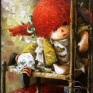 My Friend Is Napping Doll Toy Gallery Art Prints Home Decor Wall hanging Posters
