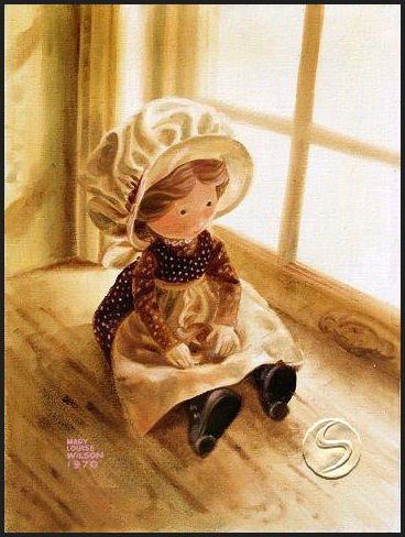 Doll Art Print Home Decor Wall Hanging Poster