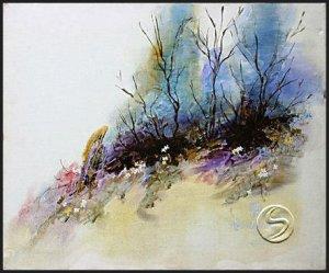 "Andwilfield Heath Landscape Art Print Wall Decorating 16""x20"" Posters"