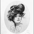 "Classy Woman #20 Contemporary Art Print Wall Decor 16""x20"""