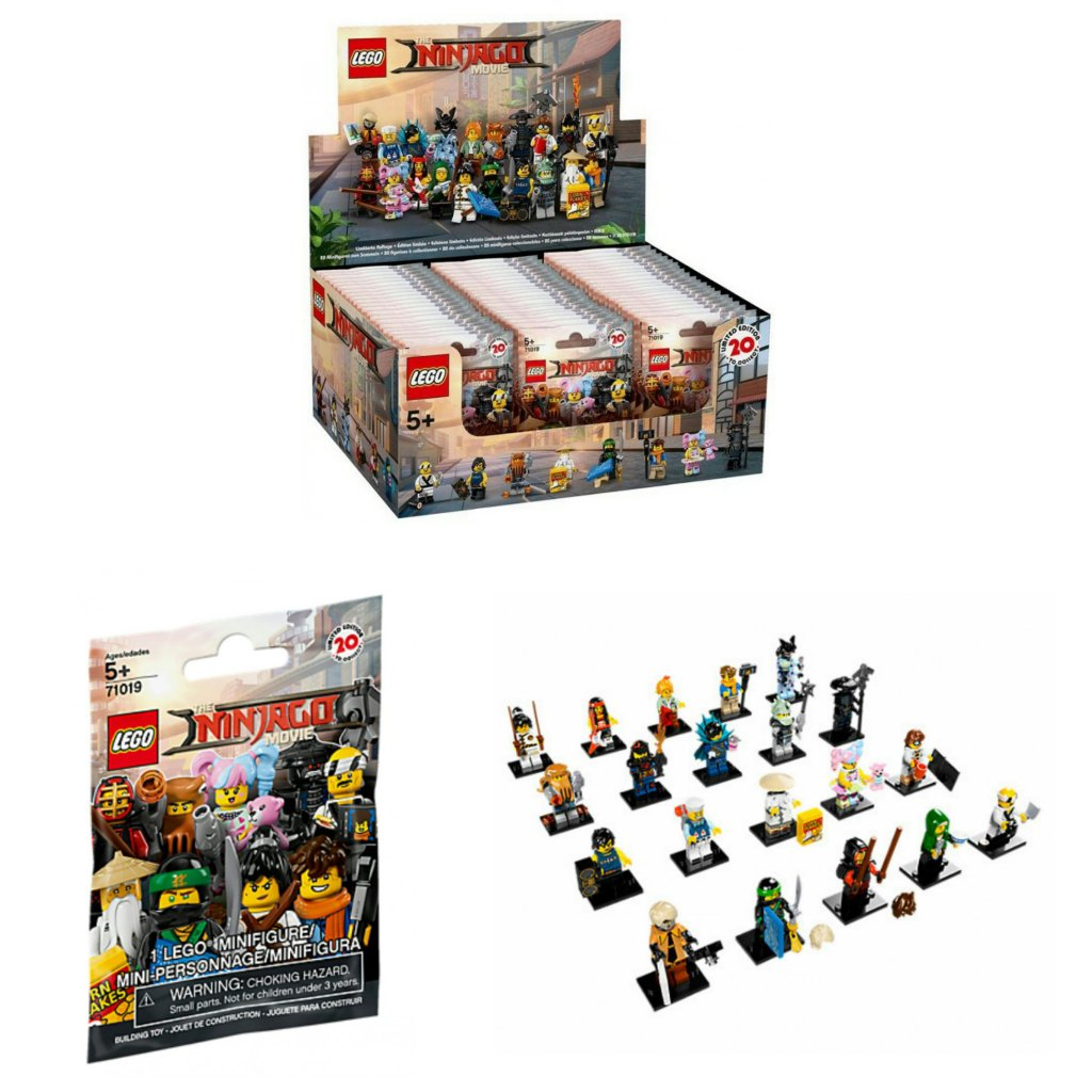 Case Lego Packs Ninjago Of Movie Series Minifigures Mystery Sealed Blind Bag71019 Ã60 ON8nv0mw