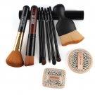Makeup Facial Cosmetics Tool Set 10 in 1