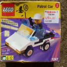Vintage Lego 1247 Police Patrol Car New Sealed Retired 1999 Town Shell Promo