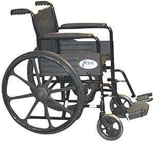 """Trius Saturn 18"""" Fixed Arm Wheelchair"""