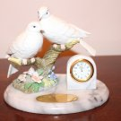Crystal Cathedral Ministries Dove Clock on Marble Base