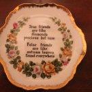 True Friends decorative plate