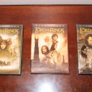Lord of the Rings Trilogy DVD set Widescreen Version