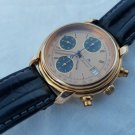 MAURICE LACROIX CHRONOGRAPH AUTOMATIC ,GOLD/STAINLESS STEEL BACKCASE COLLECTABLE EXCLUSIVITY