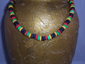 Rasta necklace