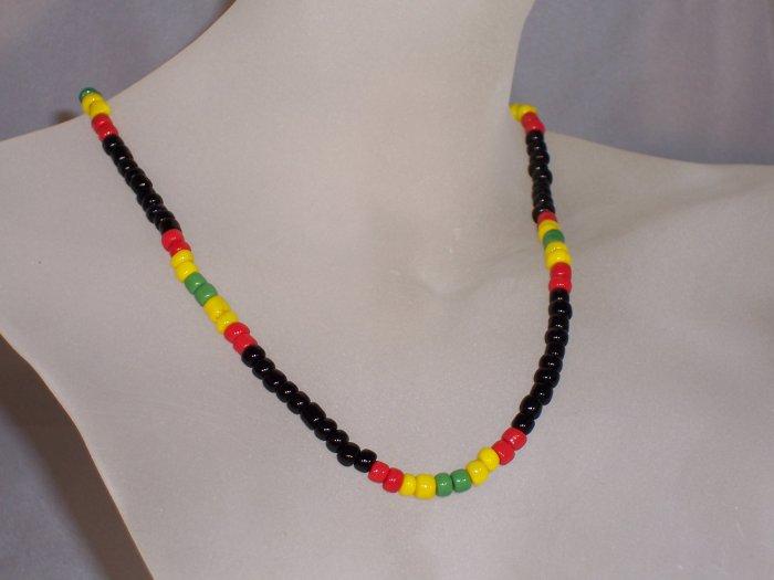 Jamaican weekend necklace