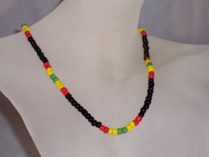 Jamaican weekend necklace