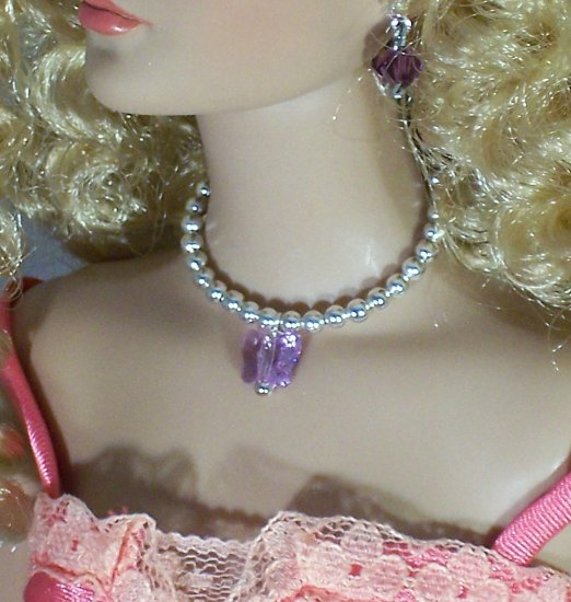 Crystal Butterfly - Fashion Doll Jewelry