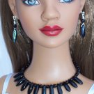 Reversible Black Daggers- Fashion Doll Jewelry