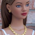 Gold Medallions set - BJD and Fashion Doll Jewelry