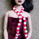Pom Pom scarf - Fashion Doll Accessories