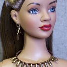 Bronze daggers collar - Fashion Doll Jewelry