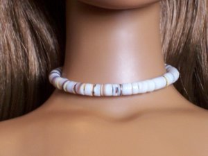 Pen shell necklace - Fashion Doll Jewelry