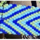 Blue zig-zag purse - Fashion Doll Accessories