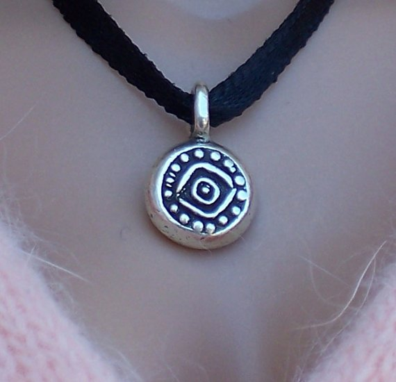 Sterling talisman - Fashion Doll Jewelry