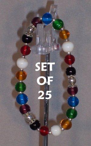 Colors of Faith bracelets - set of 25