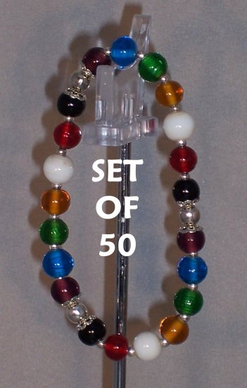 Colors of Faith bracelets - set of 50