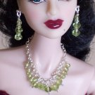 Peridot Drops - Fashion Doll Jewelry