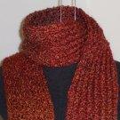 Auburn tonal boucle scarf with pockets!