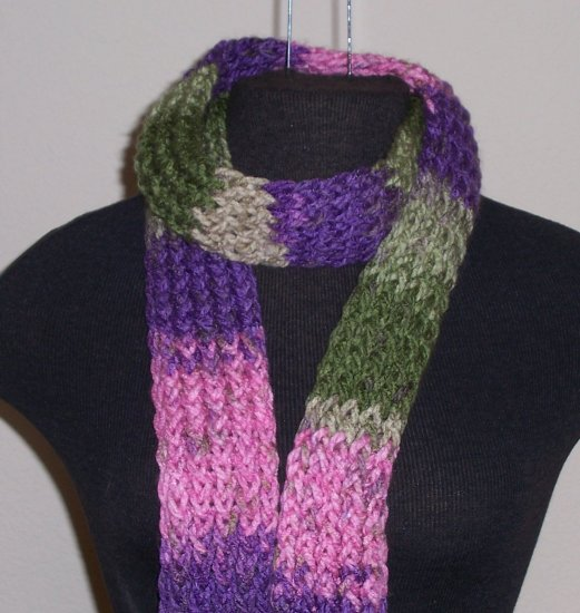 Multi-color Charisma scarf