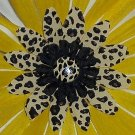 Wild Flowers - yellow leopard print bloomin pens