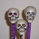 Spooky Pens - set of 5 Skulls
