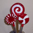 Candy Disc Pens - set of 3