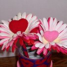 Valentine pens - Hearts and Petals