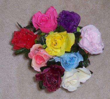 Dew Drop Roses - Dozen Mixed