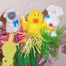 Easter character springy pens- set of 3