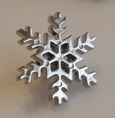 Snowflake Lapel pin - Large