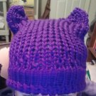 Kitty Knit Hat- Name Your Color Yarn