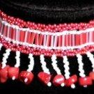 Beaded Red Coral Bracelet