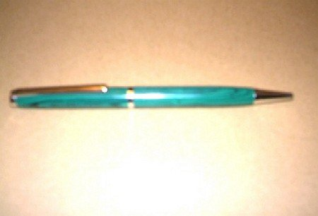 Father Sing Pen, Tru-Stone (Malachite)