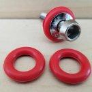 **2 RED O Ring Rubber CAMPAGNOLO cobalto SUPER RECORD Calipers brake adjuster