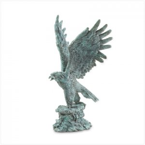 METAL EAGLE STATUE - Free Shipping